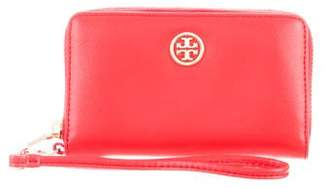 Tory Burch Robinson Smart-Phone Wristlet Wallet