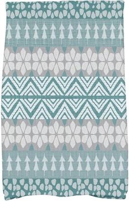 Holiday Essence FairIsle Geometric Print Kitchen Towel