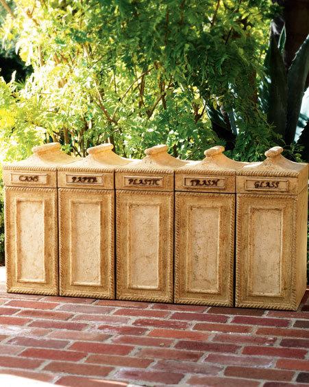 Recycling Bin & Labels