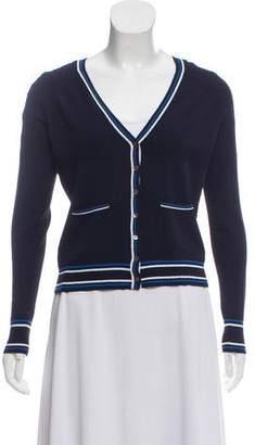 Autumn Cashmere V-Neck Button-Up Cardigan