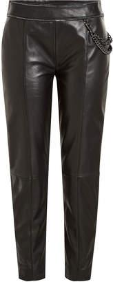 Moschino Leather Pants