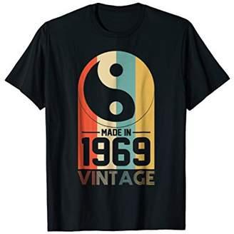 Yin & Yang Vintage Yin Yang Retro Made In 1969 49th Birthday Gifts 49