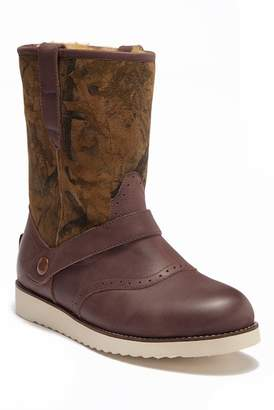 Australia Luxe Collective Yolo Forest Print Genuine Shearling Lined Boot