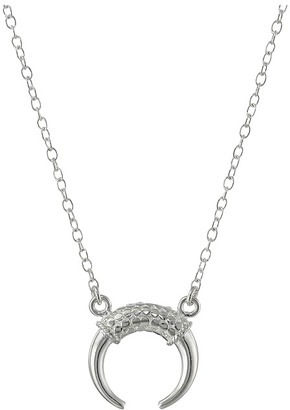 Anna Beck Double Horn Necklace $165 thestylecure.com