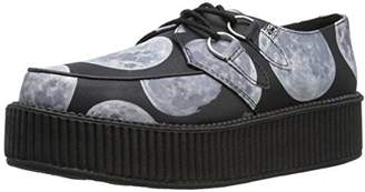 T.U.K. Unisex Moon Scape Viva Mondo Creeper Fashion Sneaker