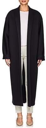 The Row Women's Maiph Neoprene Jersey Oversized Coat - Dk Navy