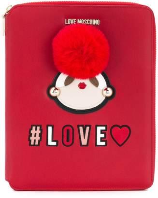 Love Moschino (ラブ モスキーノ) - Love Moschino レザー ドキュメントケース