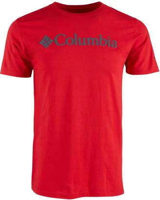 Columbia Men Fundamentals Logo Graphic T-Shirt