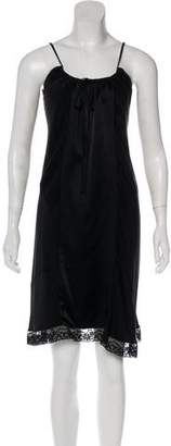 Gary Graham Knee-Length Slip Dress