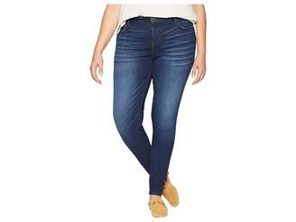 KUT from the Kloth Plus Size Mia High-Waist Skinny Jeans in Goodly