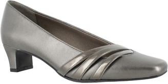Easy Street Shoes Squared Toe Slip-On Pumps - Entice