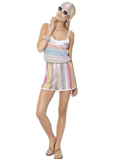 Missoni Viscose Knit Cover Up / Jumpsuit