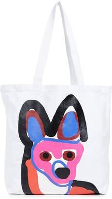 MAISON KITSUNÉ Acide Tote Bag