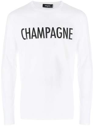 DSQUARED2 Champagne jumper