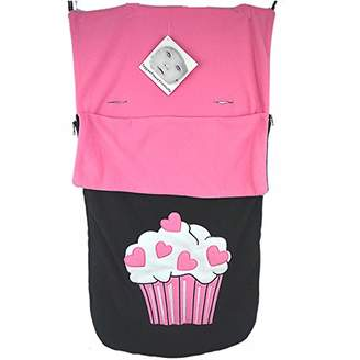 Snuggle Footmuff/Cosy Toes Compatible with I'Candy Buggy Peach Pear Apple Cherry Cupcake