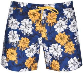 Boss Business Piranha Swim Shorts Blue