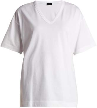 Joseph V-neck cotton T-shirt