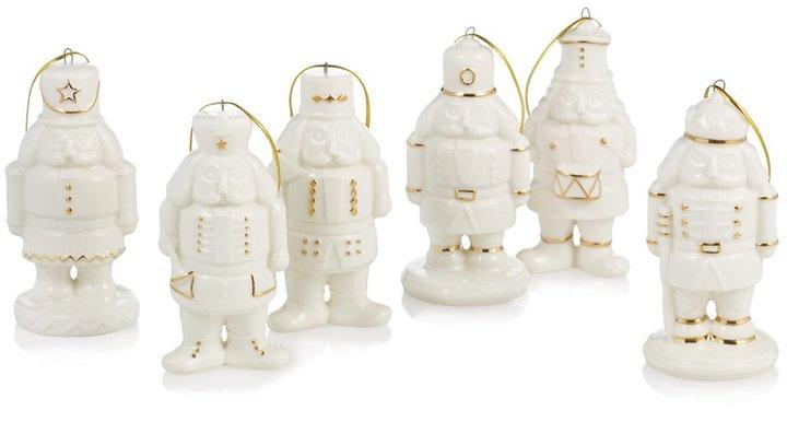 Holiday Splendor Nutcracker Ornaments, Set of 6