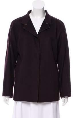 Fendi Cashmere Button Front Jacket
