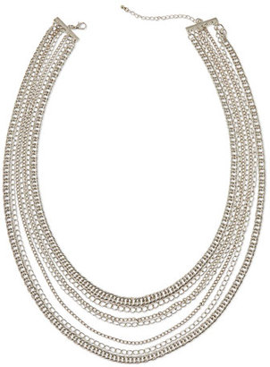 Jules Smith Layered Hip-Hop Necklace, Silver $65 thestylecure.com