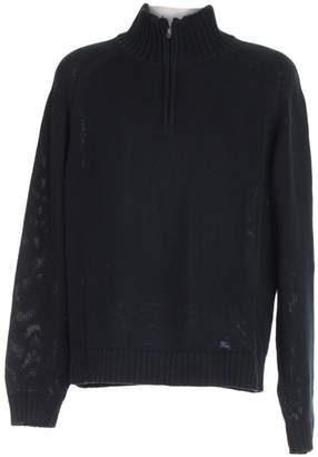 Burberry Navy Cotton Knitwear