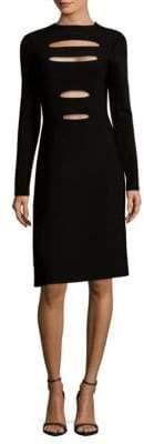 Narciso Rodriguez Cutout Sheath Dress