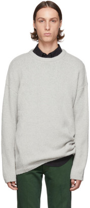 Our Legacy Blue Sonar Roundneck Sweater