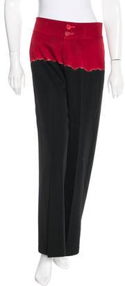 Yohji Yamamoto Tie-Dye Wool Pants $175 thestylecure.com