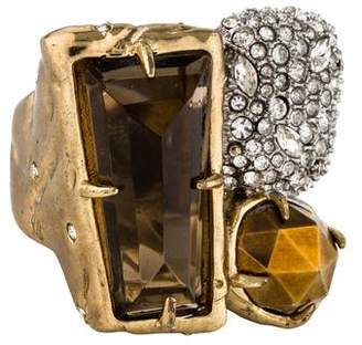 Alexis Bittar Pyrite Rocky Metal Cocktail Ring