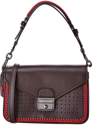Longchamp Mademoiselle Leather Shoulder Bag