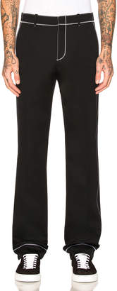 Givenchy Contrast Stitch Trousers
