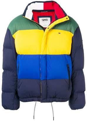 Tommy Jeans TJM colour block padded jacket