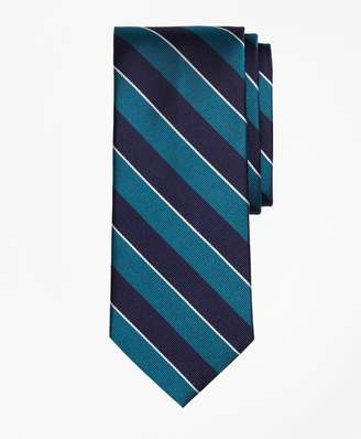 Brooks Brothers Sidewheeler Rep Stripe Tie