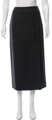Chanel Wool Midi Skirt