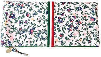 Clare Vivier Ditsy Floral Clutch