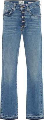 Silver Bullet Eve Denim Mid-Rise Straight-Leg Jeans