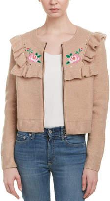 Wildfox Couture Elliot Wool & Alpaca-Blend Jacket