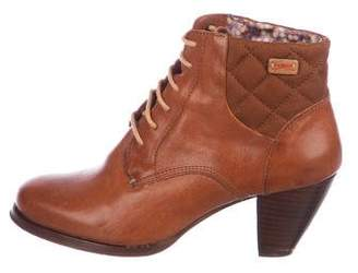 Camper Leather Ankle Boots