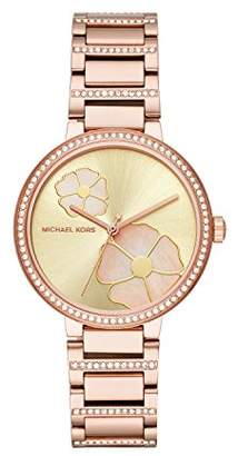 Michael Kors Women's 'Courtney' Quartz Stainless Steel Casual Watch