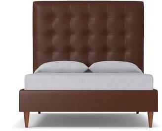 Apt2B Palmer Upholstered Bed VEGAN LEATHER