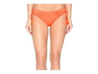 Vince Camuto Fiji Solids Side Tie Cheeky Bikini Bottom Women's Swimwear