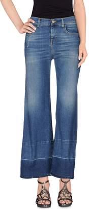 FLARE JEANS Denim pants - Item 42547889