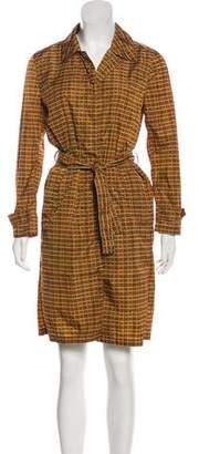 Prada Printed Button-Up Dress