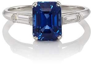 McTeigue & McClelland Women's Sapphire & Diamond Ring