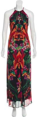 Ted Baker Printed Maxi Dress