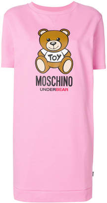 Moschino teddy print mini T-shirt dress