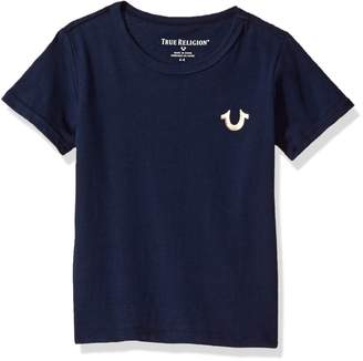 True Religion Big Boys' Branded Logo Tee Shirt