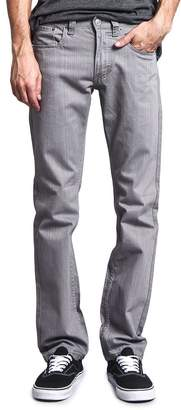 Victorious Mens Slim Fit Colored Cotton Denim Jeans DL991 - 30/30