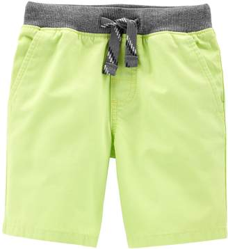 Carter's Toddler Boy Pull On Cargo Shorts