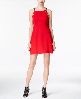 kensie Grommet-Detail A-Line Dress $79 thestylecure.com